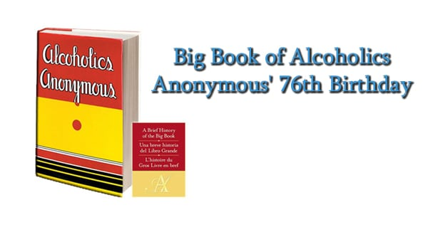 big book of aa 76th birthday