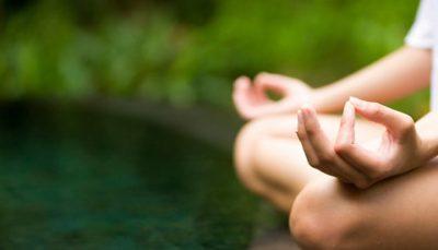 meditation hands