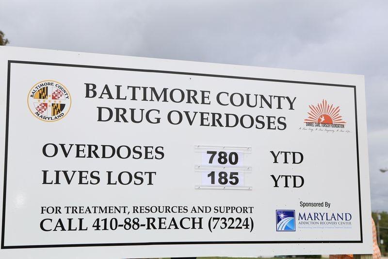 Baltimore county drug overdose statistics