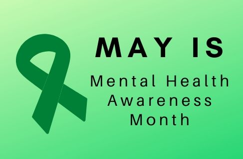 green ribbon for mental health awareness month