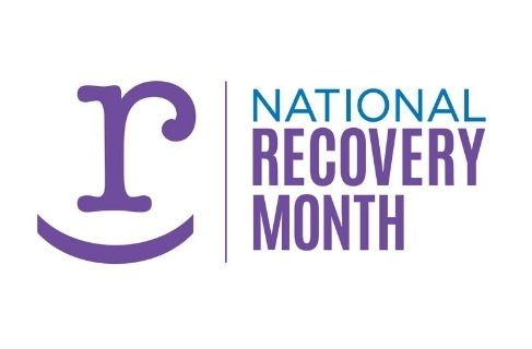 national recovery month 2020 logo