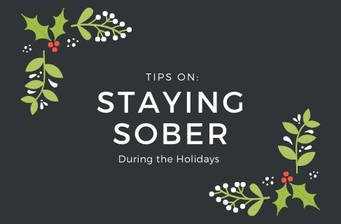 stay sober during the holidays