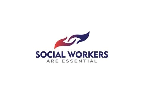 social workers are essential, social worker month banner