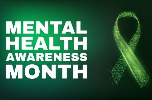 mental health awareness month 2021 ribbon