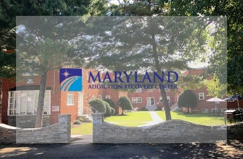 MARC Campus with Maryland addiction recovery center logo
